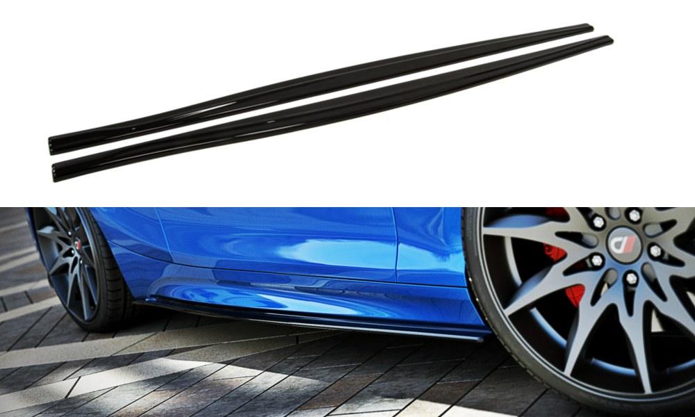 Dokładki Progów BMW 1 F20 M-Power Polift - GRUBYGARAGE - Sklep Tuningowy